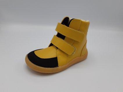 Baby Bare Shoes zimní barefoot obuv FEBO Winter Kayak