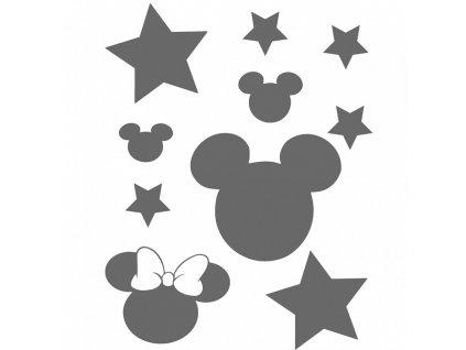 Šijeme srdcem nažehlovací obrázky Myšky 9006