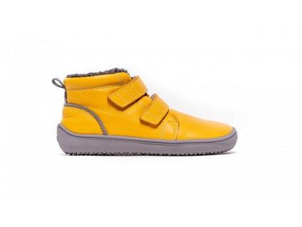 Be Lenka zimní barefoot boty Be Lenka Penguin Yellow
