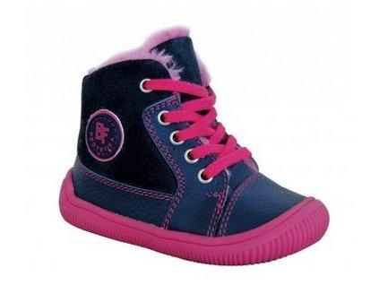 Protetika zimní barefoot obuv Amis Fuxia