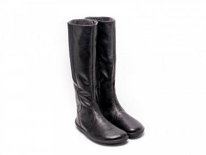 Be Lenka zimní barefoot obuv Sierra Black