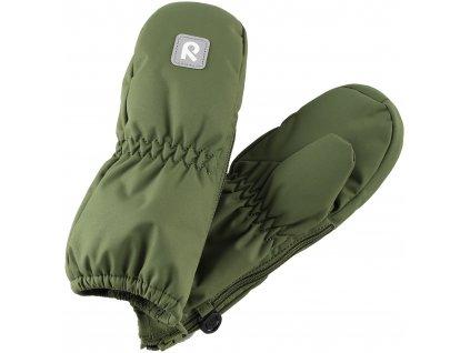 Reima dětské palčáky Tassu Khaki Green