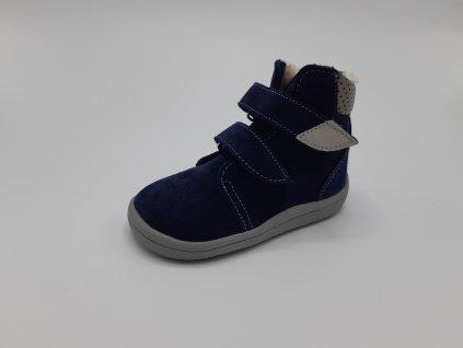 Beda vyšší zimní barefoot obuv Lucas 2020 s membránou 0004/W/VMK