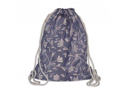 Batůžek Fidella - Floral Touch Eclipse Blue