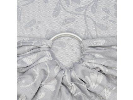 ring sling floral touch lunar grau