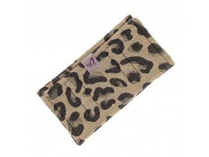 fidella suck pad fur tragehilfen leopard gold