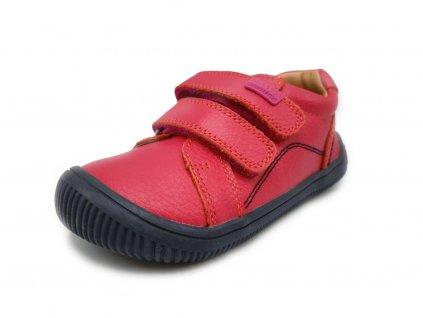 Protetika celoroční barefoot obuv Lars Pink
