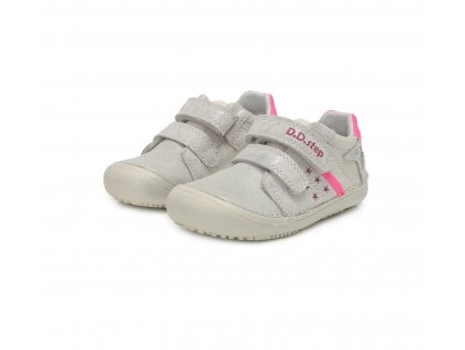 D.D.step celoroční barefoot obuv 063-932AM White