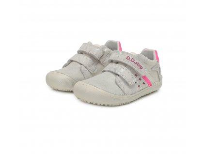 D.D.step celoroční barefoot obuv 063-932AL White
