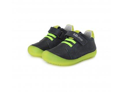 D.D.step celoroční barefoot obuv 063-779AM Royal Blue