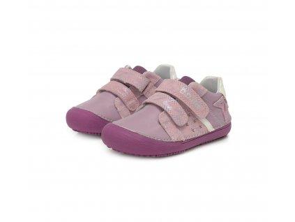 D.D.step celoroční barefoot obuv 063-932L Mauve