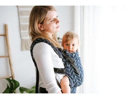 Ergonomické nosítko Kavka Multi-Age Ink Braid CottonNosidlo Kavka Ink Braid Multi age (1)