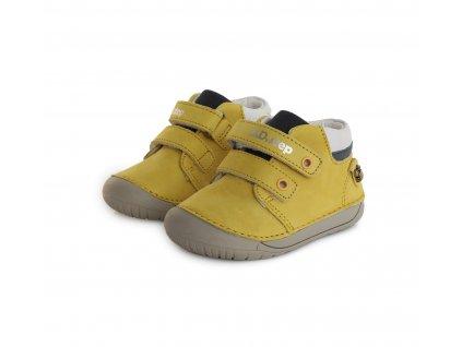 D.D.step celoroční barefoot obuv 070-387A Yellow