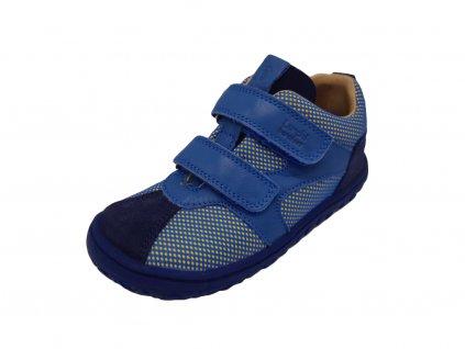 Lurchi barefoot tenisky Nevio Nappa Azul