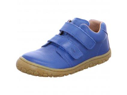 Lurchi celoroční barefoot obuv Noah Nappa Cobalto