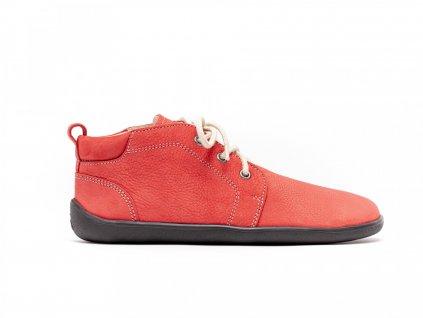 Be Lenka celoroční barefoot obuv Icon Deep Red