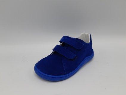 Baby Bare Shoes celoroční barefoot obuv Febo Spring Nubuk Jeany