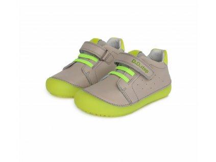 D.D.step celoroční barefoot obuv 063-779M+ Light Grey