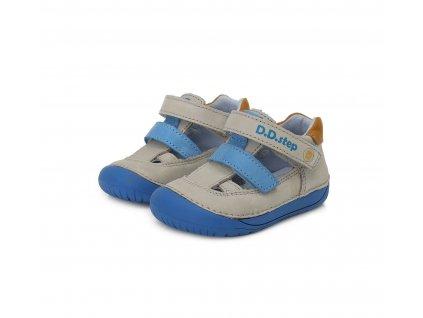 D.D.step barefoot sandály 070-698A šedá