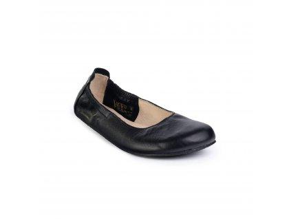 Angles Fashion barefoot baleríny AFRODITA Light Black