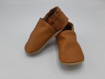 baBice barefoot capáčky Plain Nugat nugátové BA-004