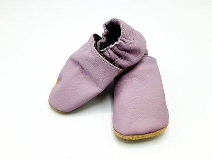baBice barefoot capáčky Plain Lilac fialová BA-143