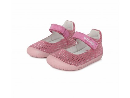 D.D.step barefoot sandály baleríny 070-980A Dark Pink