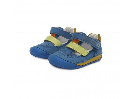 D.D.step barefoot sandály 070-698 Bermuda Blue