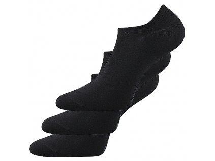 Voxx Unisex nízké ponožky Dexi černá