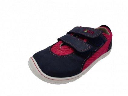 Fare Bare barefoot tenisky růžové B5416251
