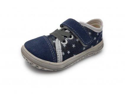 Jonap barefoot tenisky B15 Airy modrá hvězda