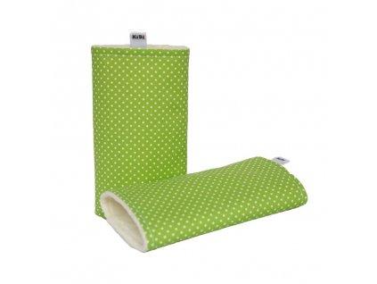 slintáčky KiBi zelené puntíky