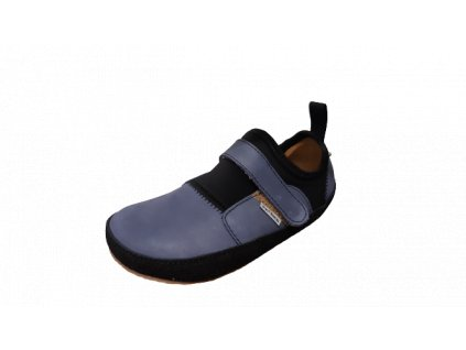Pegres barefoot lycrové tenisky BF30 modrá