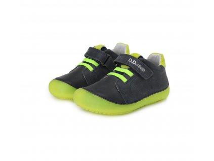 D.D.step celoroční barefoot obuv 063-779AL Royal Blue