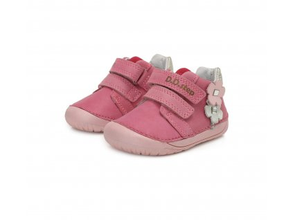 D.D.step celoroční barefoot obuv 070-506A Dark Pink