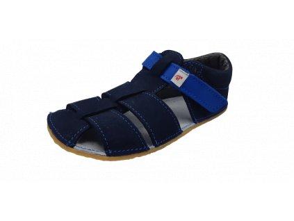 EF Barefoot sandály tmavě modrá