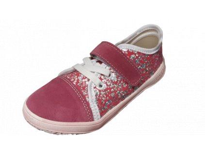 Jonap barefoot tenisky B15 Airy růžová tisk