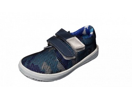 Jonap barefoot tenisky B7/V2 SLIM modrá
