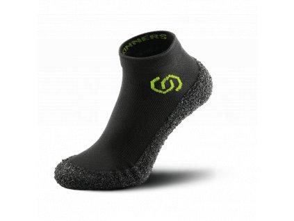 Skinners unisex barefoot ponožkoboty černo-žlutá