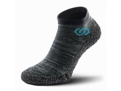 Skinners unisex barefoot ponožkoboty Metal Grey