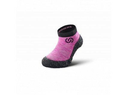 Skinners dětské barefoot ponožkoboty Candy Pink