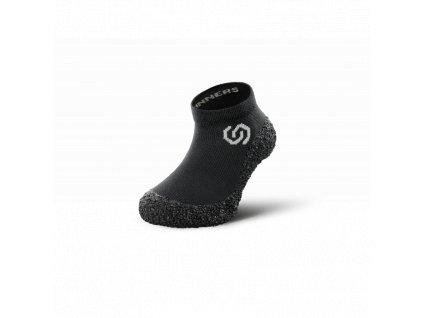 Skinners dětské barefoot ponožkoboty Black/White