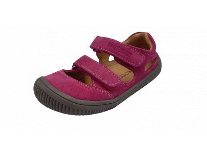 Protetika barefoot sandály Berg Fuxia