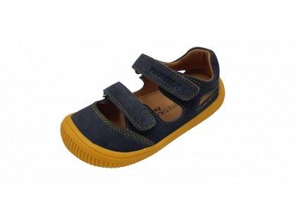 Protetika barefoot sandály Berg Gris