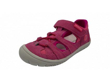 Protetika barefoot sandály Bard Fuxia