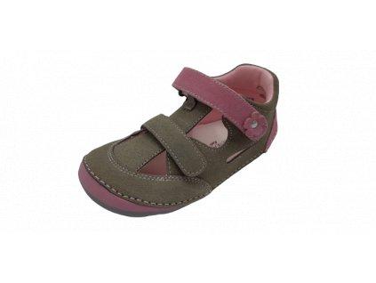 Protetika barefoot obuv Flip Taupe