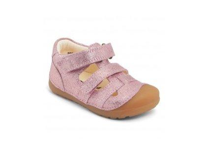 Bundgaard barefoot sandály Petit Sandal Pink Grille #2 BG202066-309