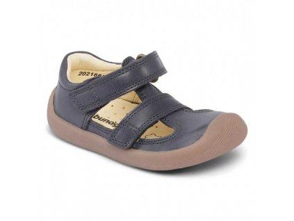 Bundgaard barefoot sandály Walk Summer II Night Sky WS 519