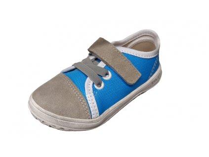 Jonap barefoot tenisky B15 SLIM Airy šedomodrá