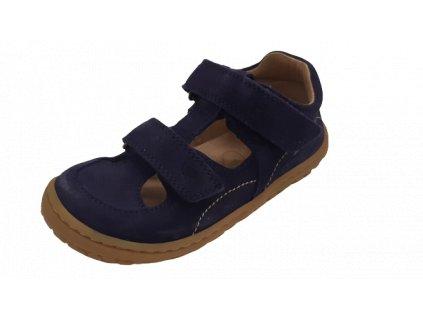 Lurchi barefoot sandály Nando Azul 33-50002-22